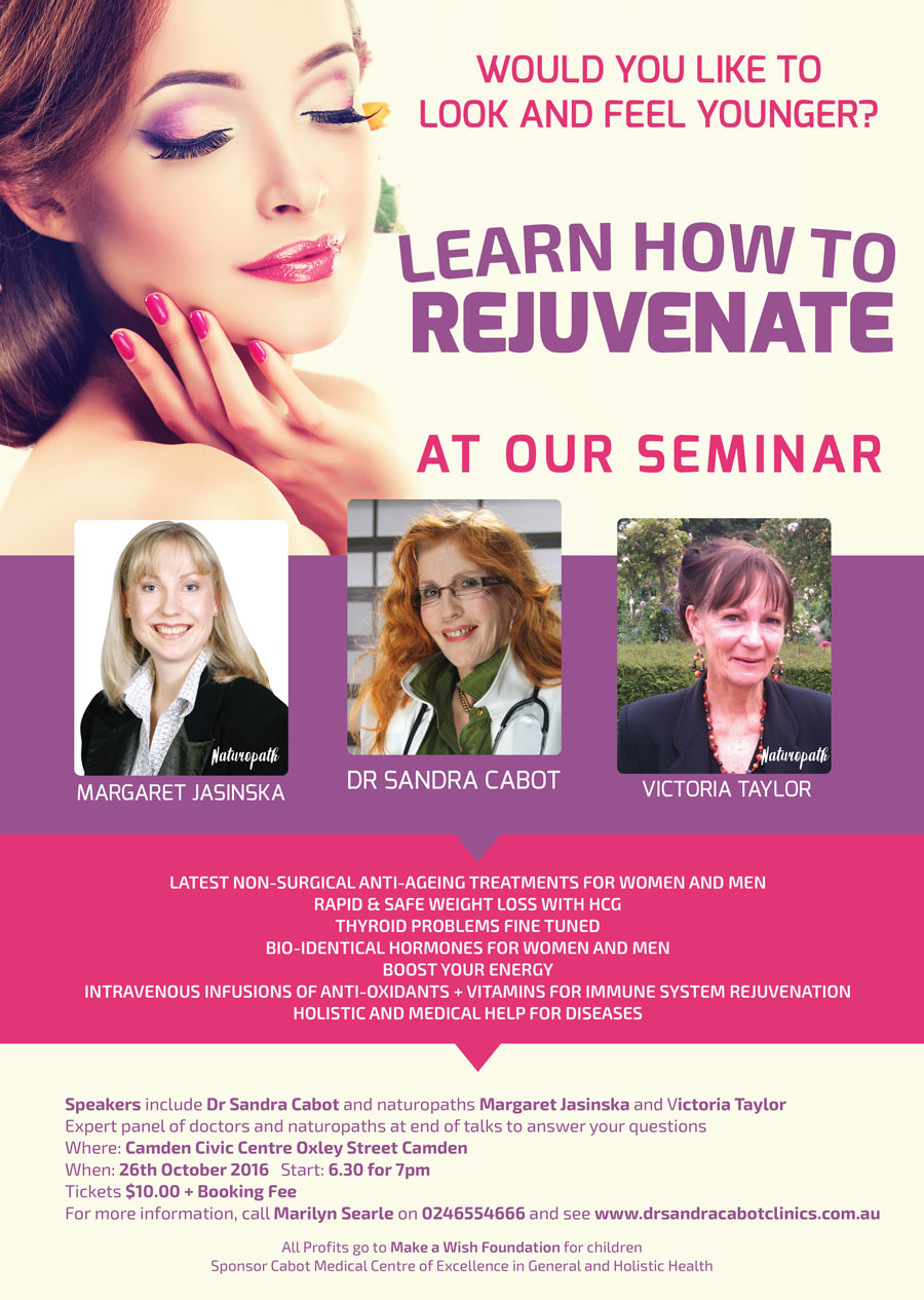 Learn How To Rejuvenate