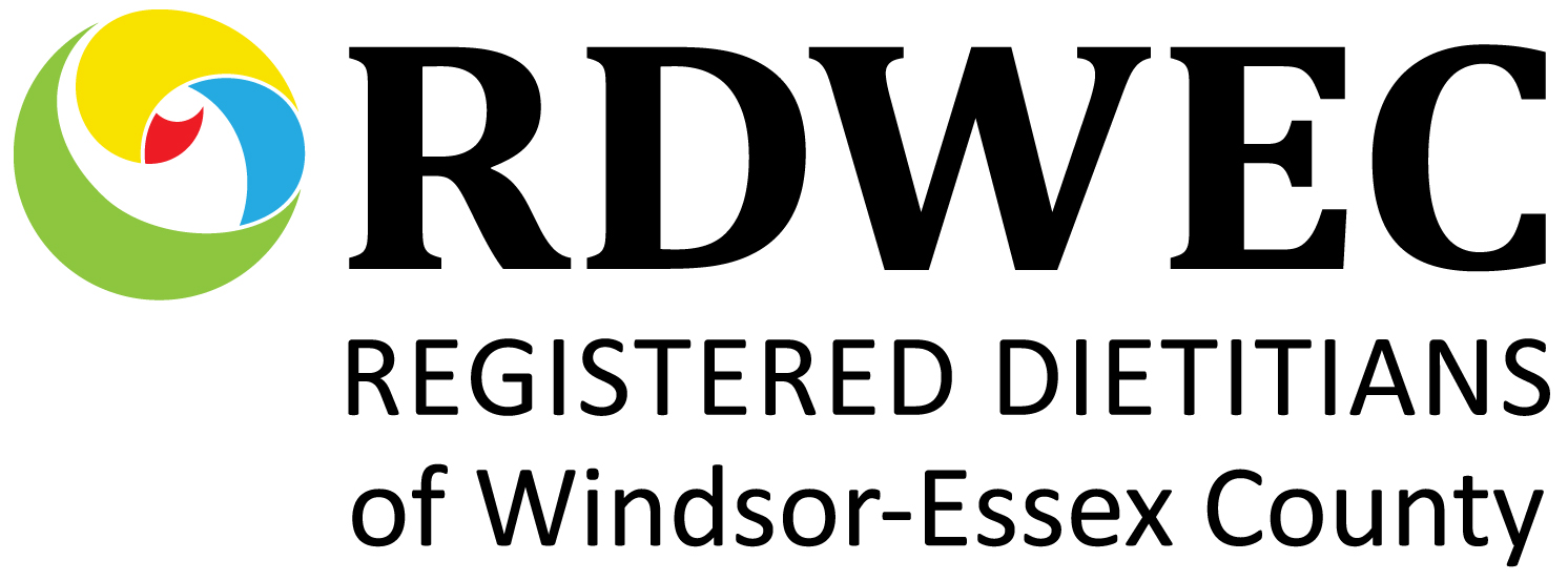 Registered Dieticians of Windsor Essex Logo