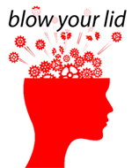 blow your lid logo