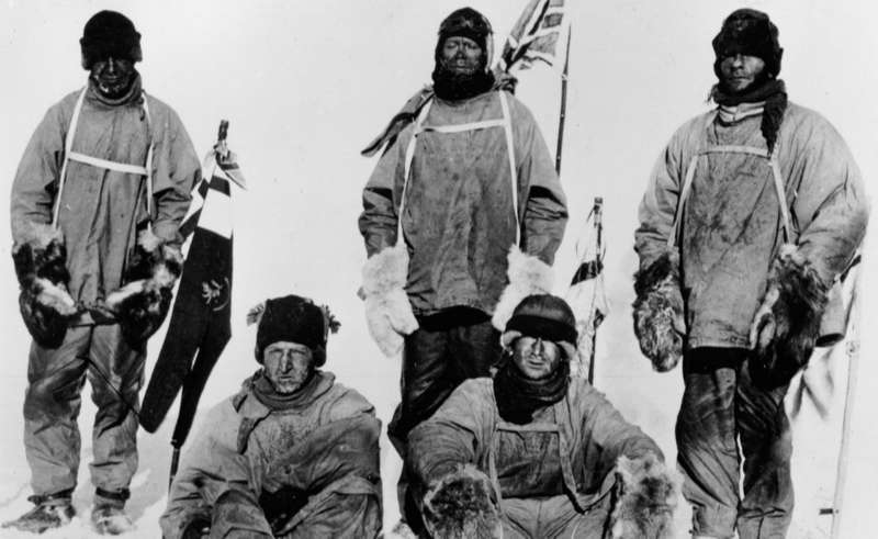 Polar Expedition Photo from Oates Collection