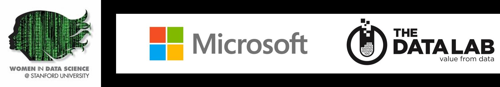 WIDS BANNER - Microsoft UK & The Data Lab