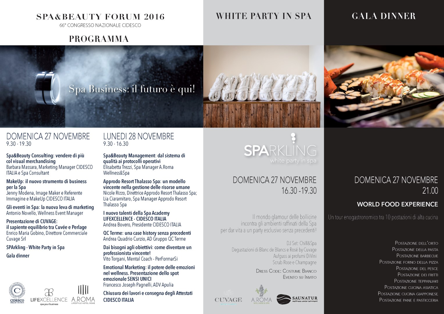 Programma Spa&Beauty Forum