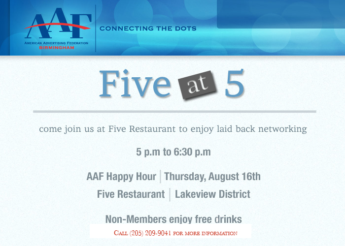 AAF Happy Hour
