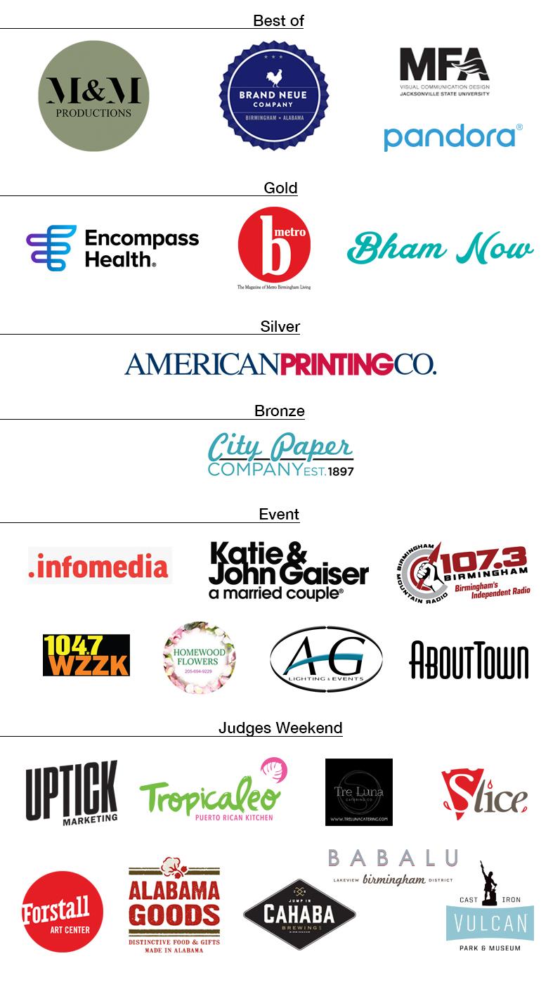 ADDY Sponsors