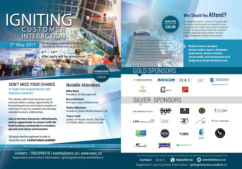 Edmonton Event Igniting Customer Interaction EOCC