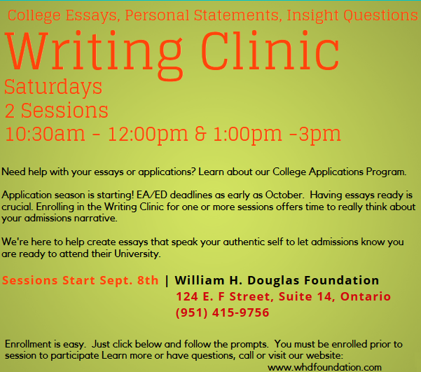Wrting Clinic details