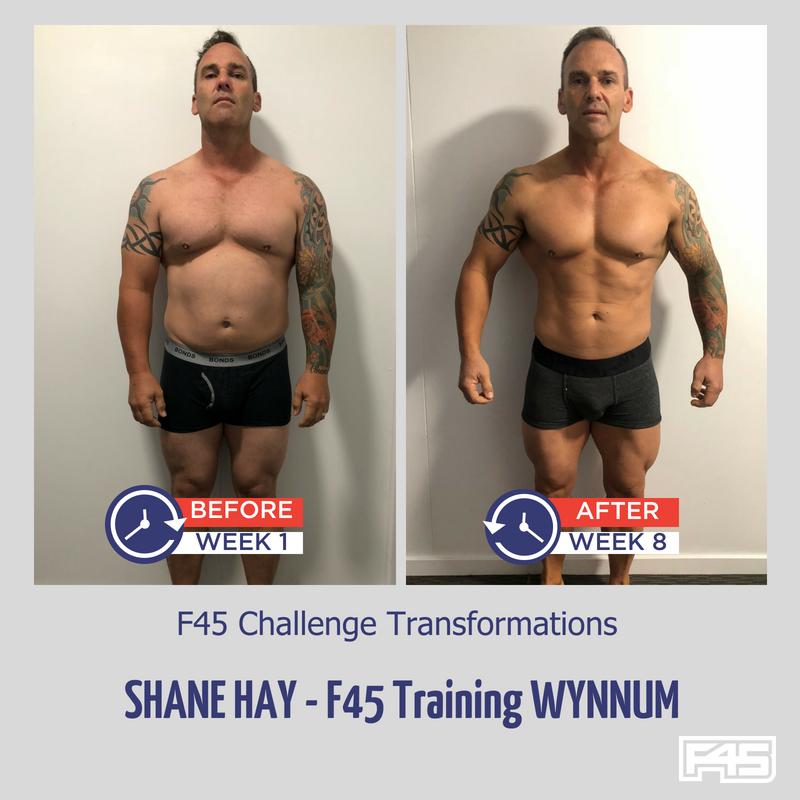Shane's transformation