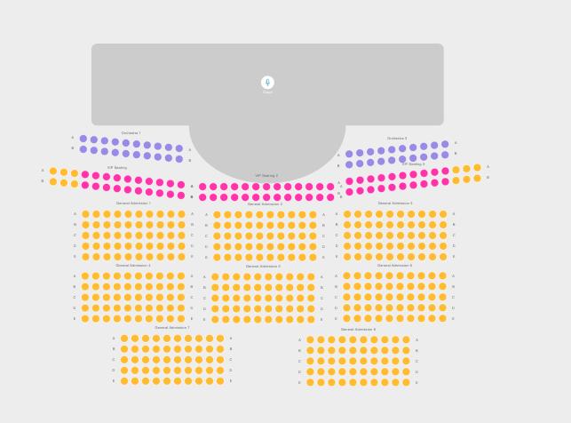 madame seating chart