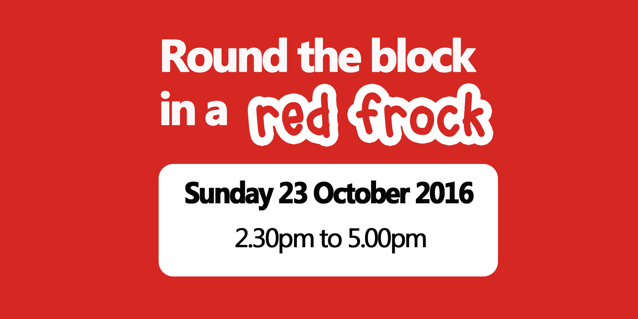 Round-The-Block-In-A-Red-Frock