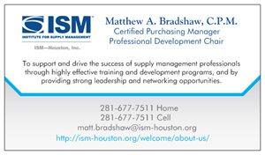 Matt Bradshaw, CPSM, C.P.M.