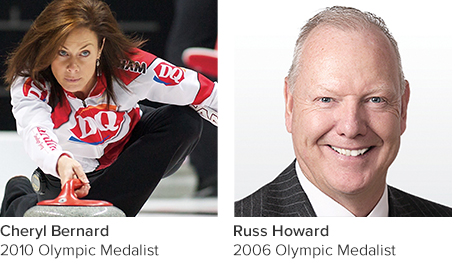 Cheryl Bernard & Russ Howard