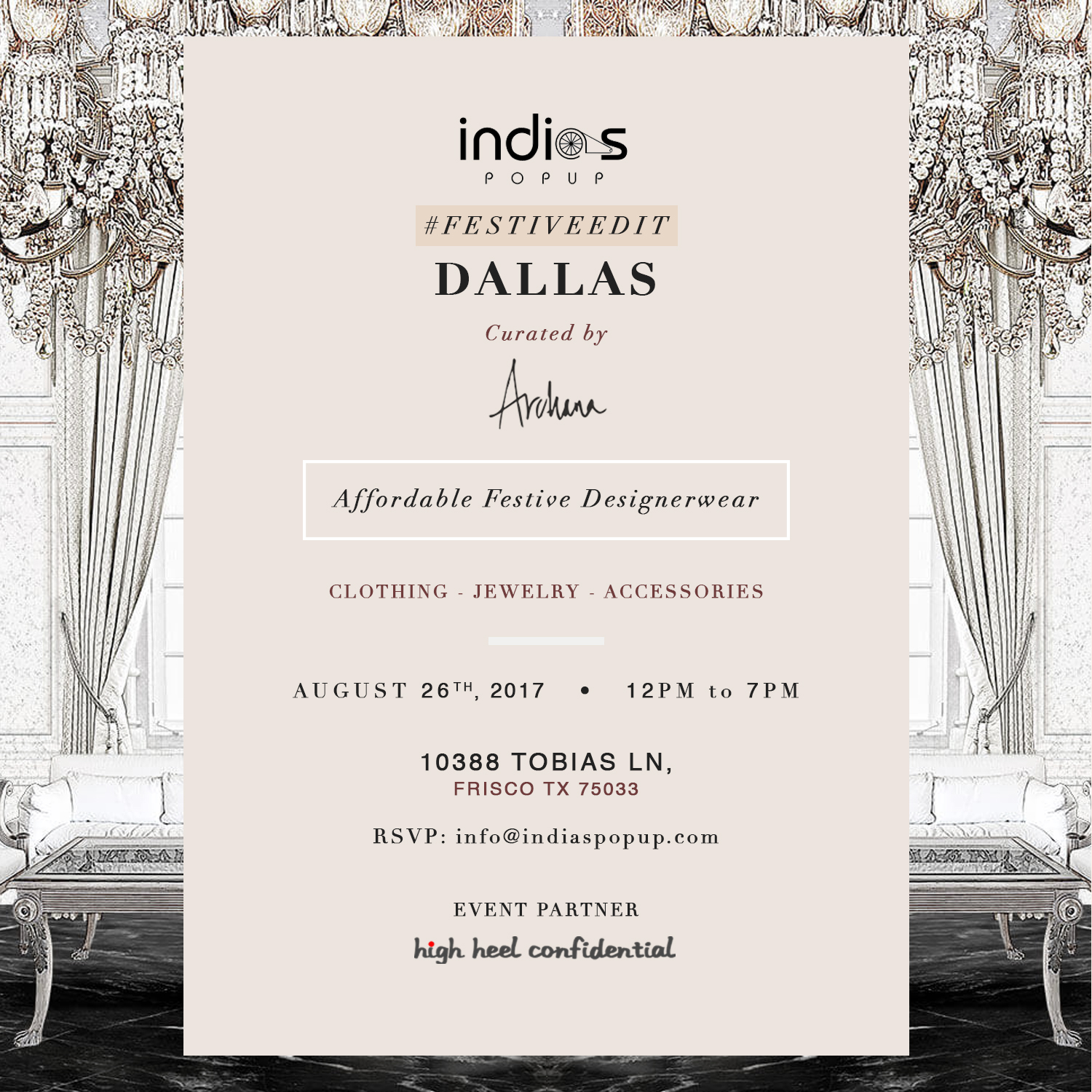 Archana Yenna Presents Luxury Festive Edit Dallas 2017