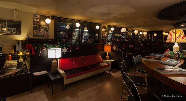 L'interno del Tony's Diner