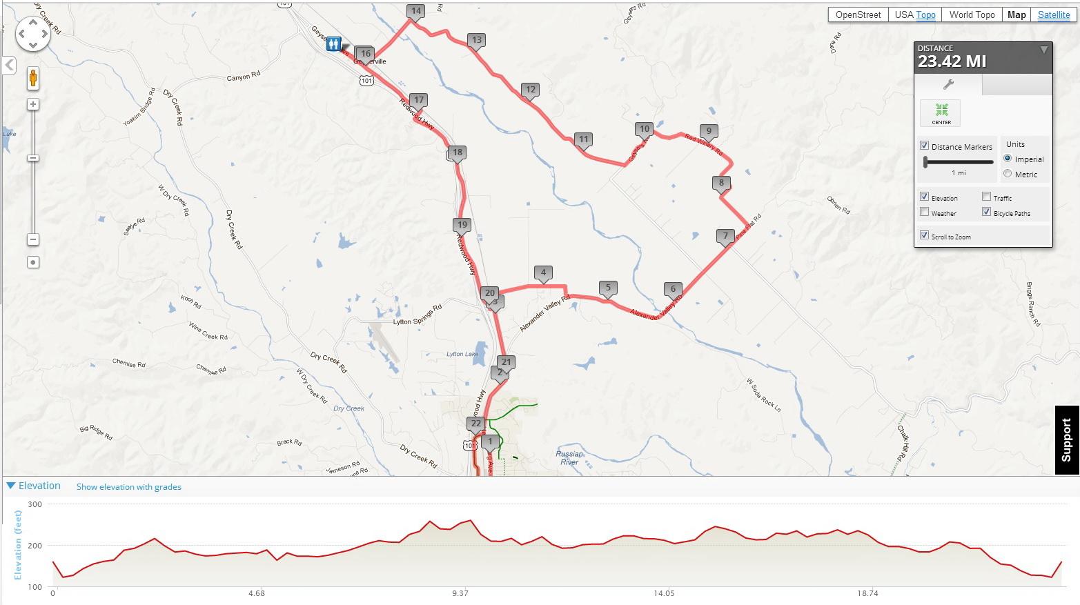 23 mile