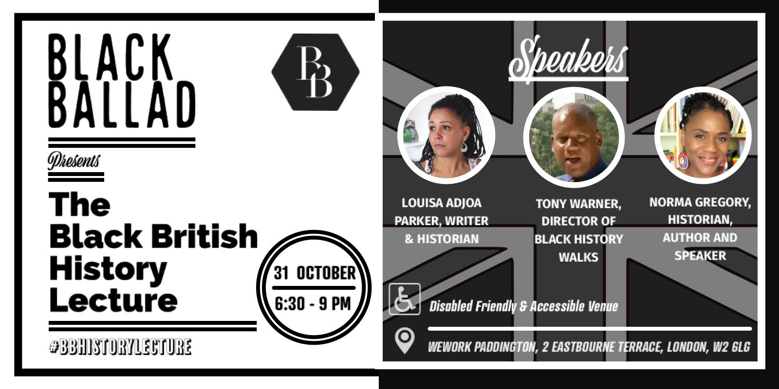 Black Ballad's Black British History Lecture