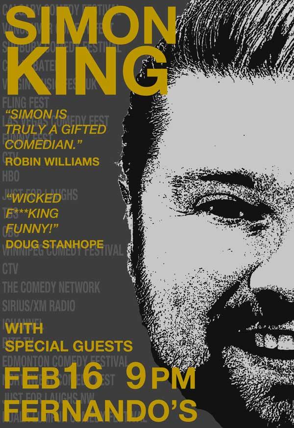 Simon King Live @FernandosPub