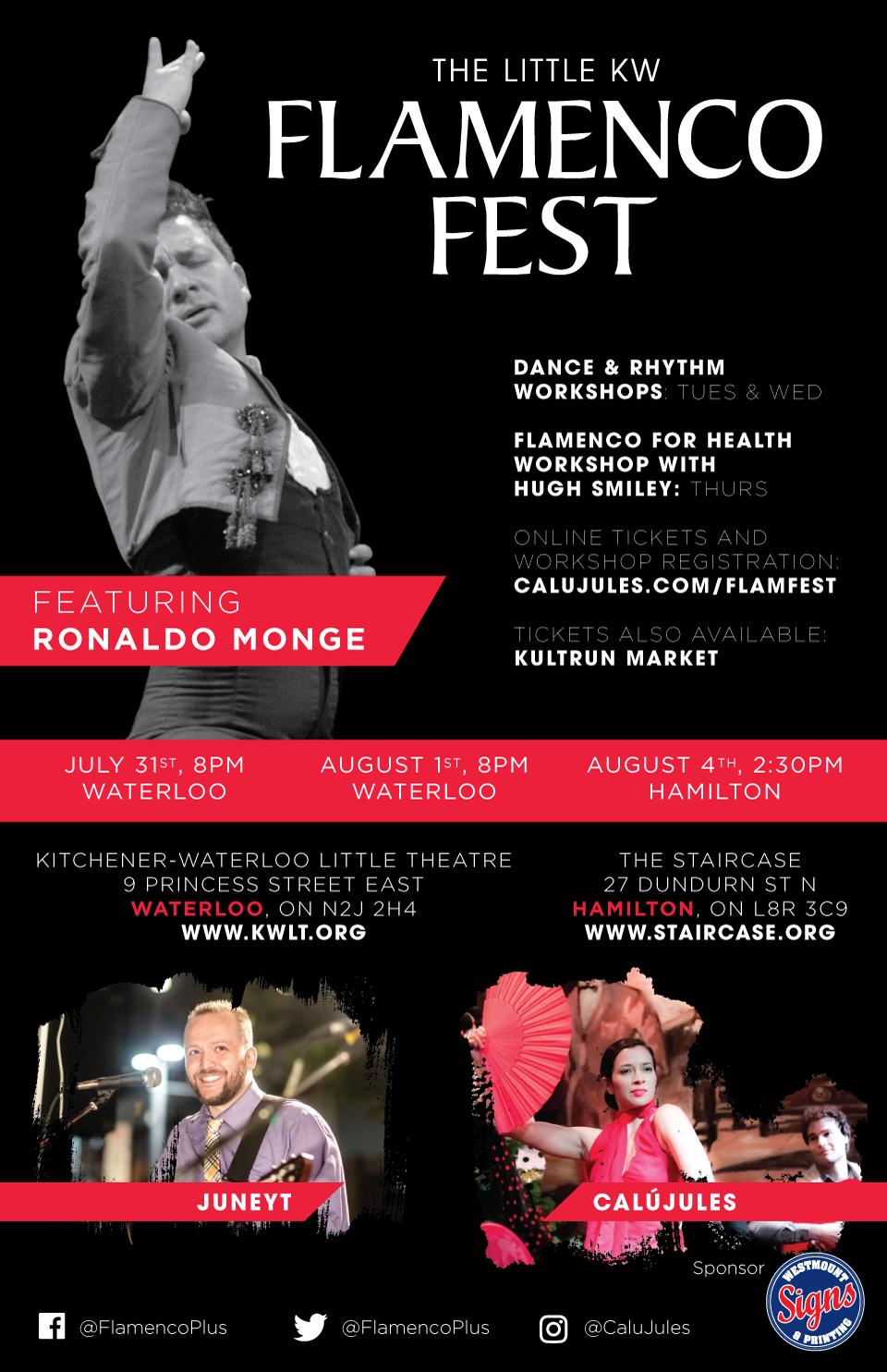 2019 Flamenco Fest poster
