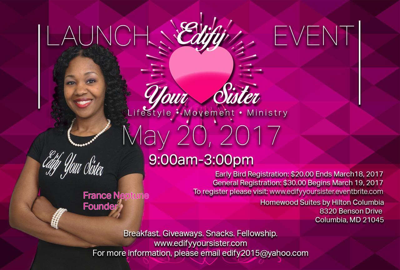 Edify Launch Flyer