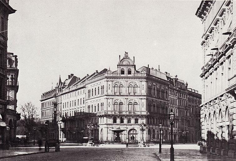 Kaiserplatz, circa 1880