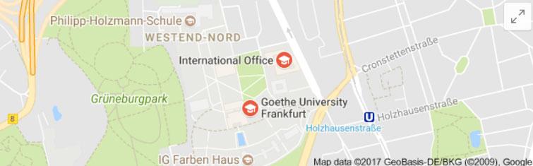 Welcome to Frankfurt am Main and Goethe-University