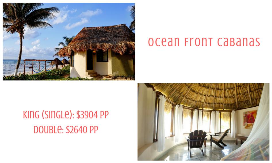 Ocean front cabana
