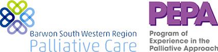 Barwon South Western Region Palliative Care and PEPA logo