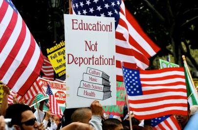 Education not deportation