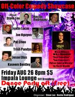 Off Color Comedy Showcase + Dance Party @ the Impala Lounge