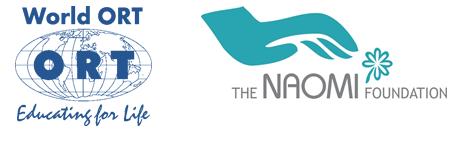 ORT and Naomi foundation logos