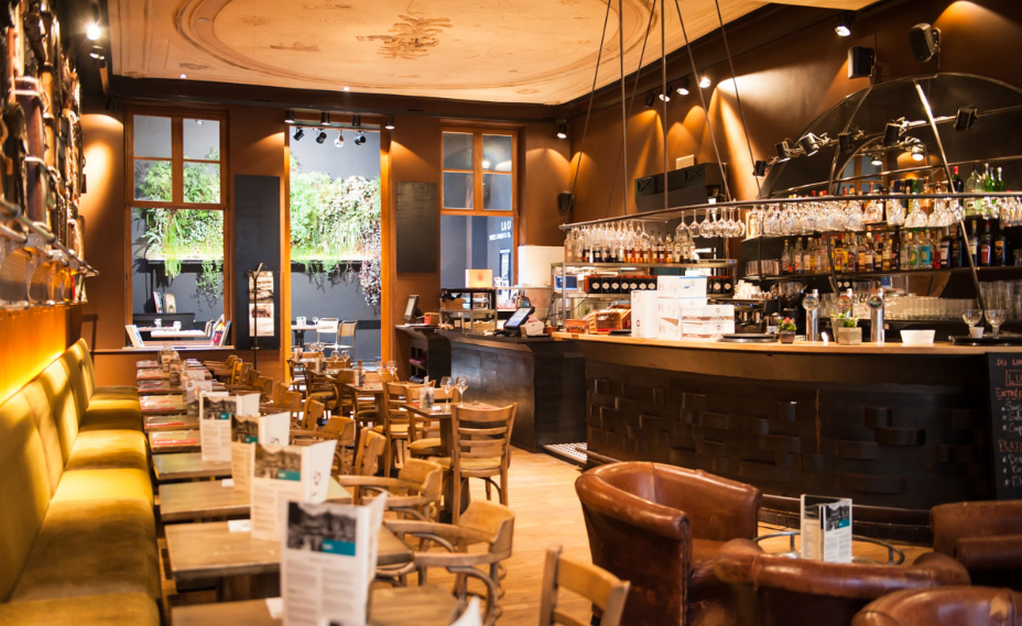 Restaurant, Bruxelles, Salle de réunion