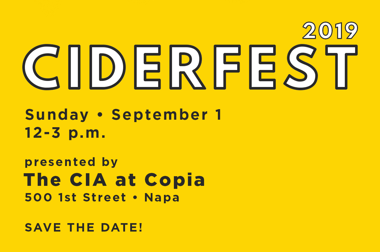 Third Annual Ciderfest at The CIA at Copia @ The CIA at Copia (The Culinary Institute of America) | Napa | CA | US