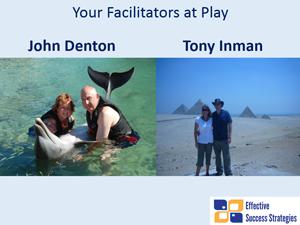 Your Facilitators at Play