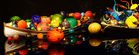 Chihuly Glass art work