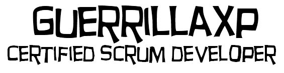 GuerrillaXp Certified Scrum Developer