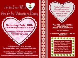 I'm In Love With Zumba - Fire & Ice Valentines Party