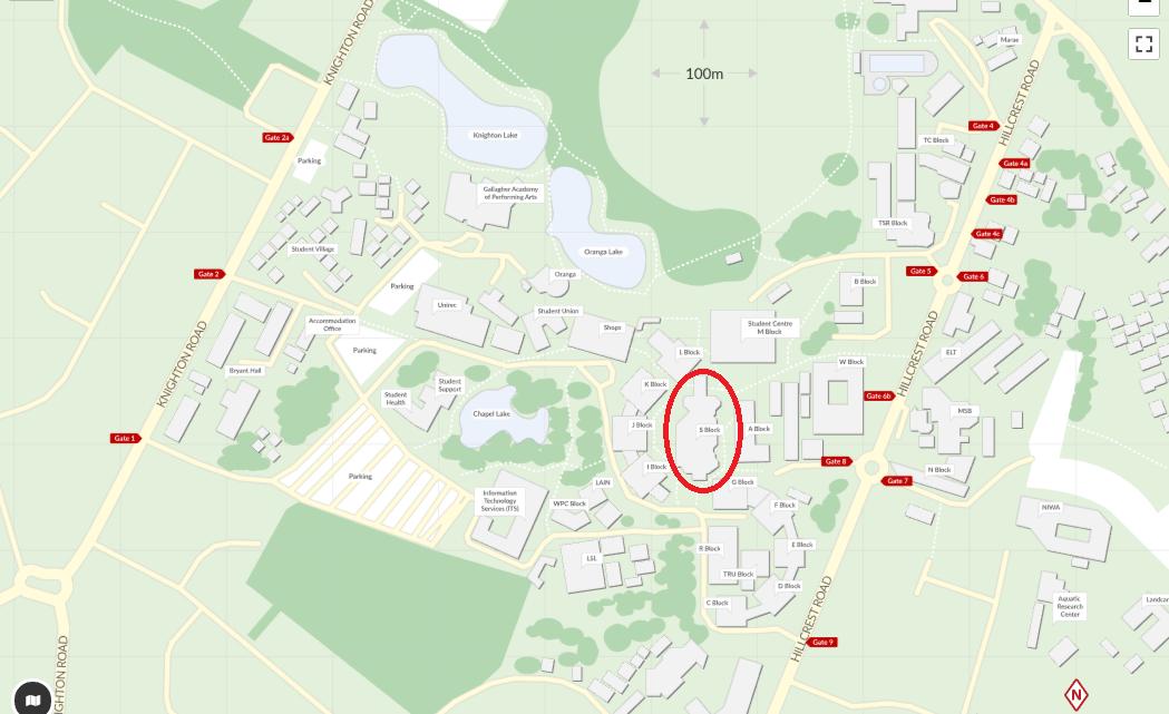 University Campus Map