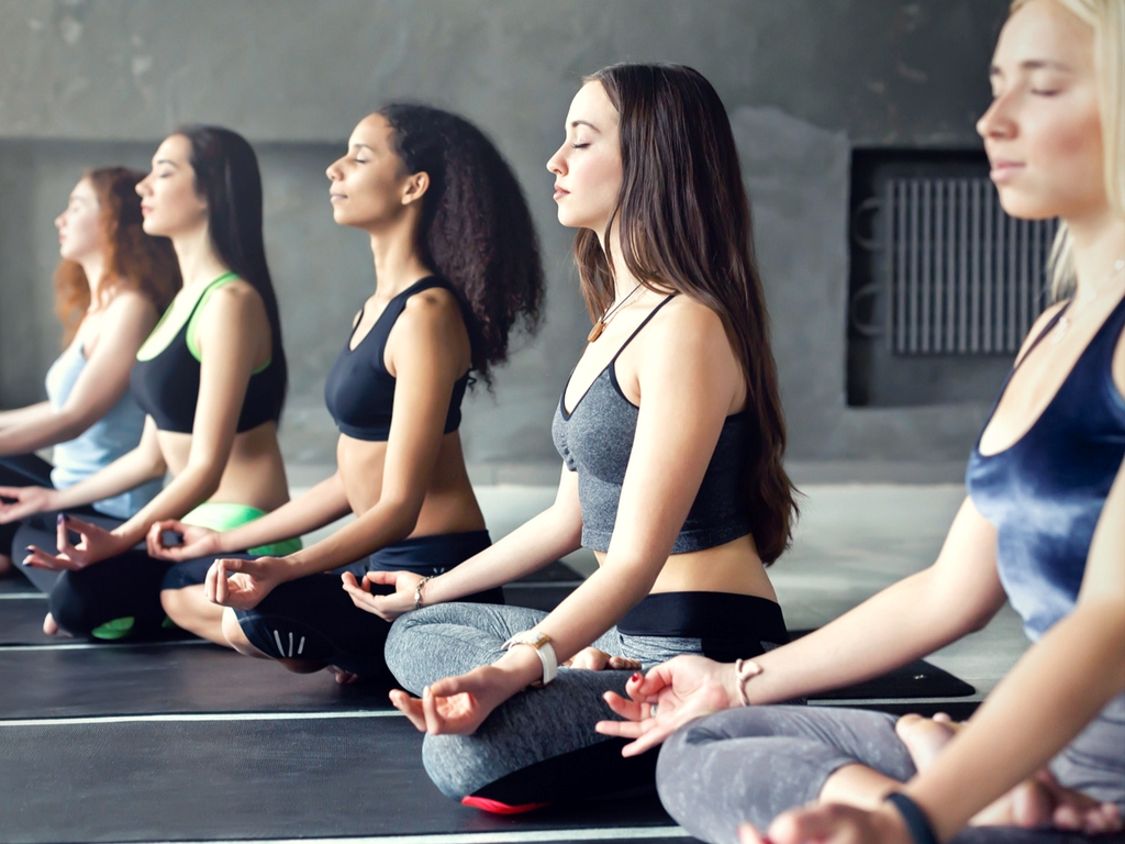 Meditation at The Reboot Retreat