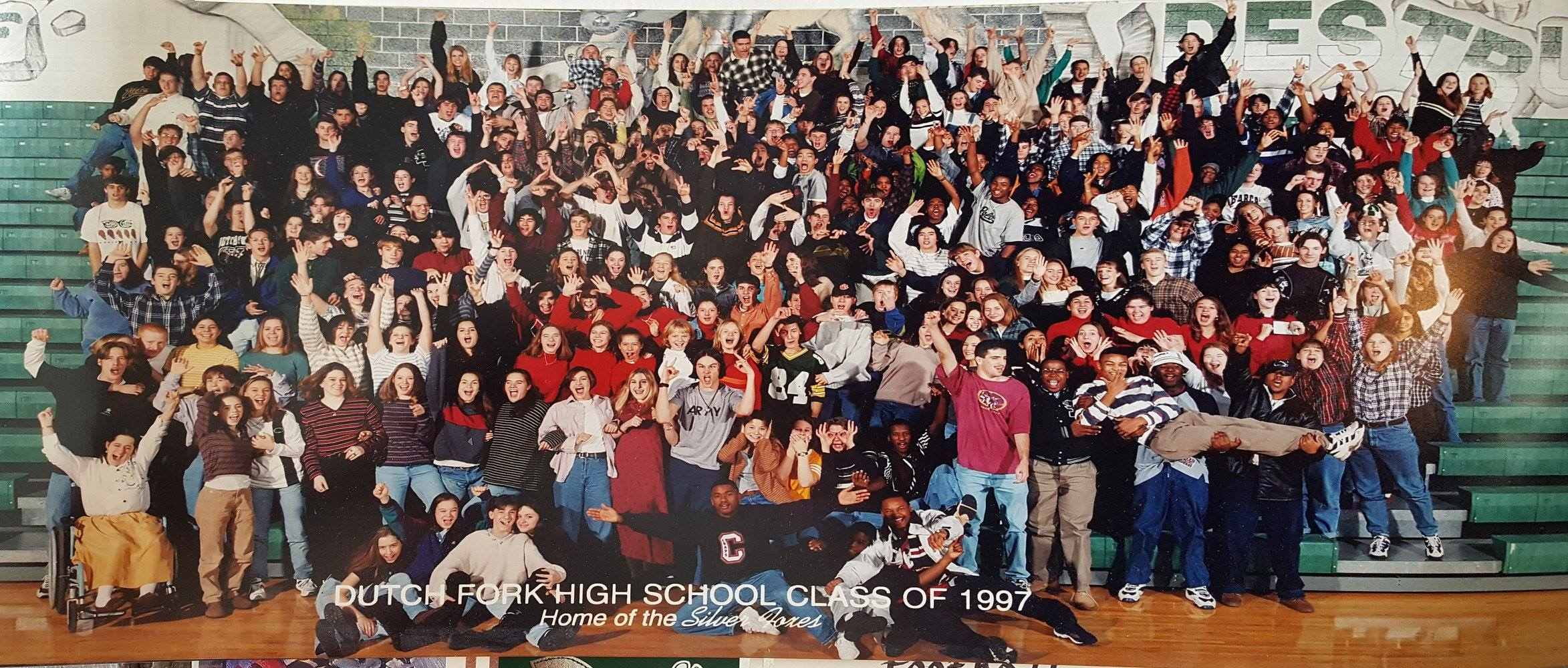 Class Picture 1997 Funny