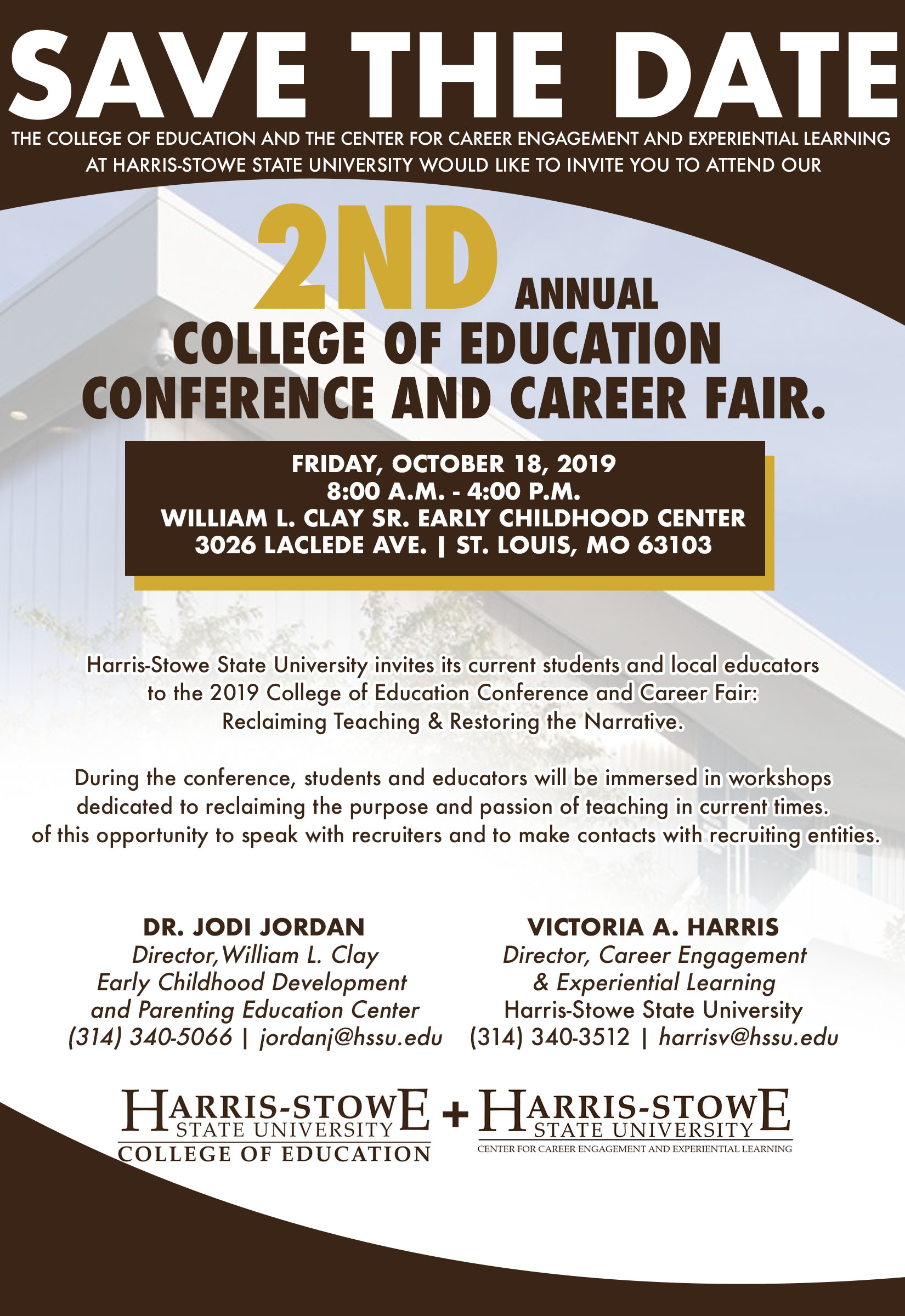 2019 COLLEGE OF EDUCATION CONFERENCE AND CAREER FAIR