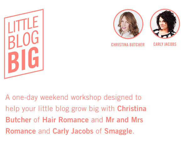 Little Blog Big workshop
