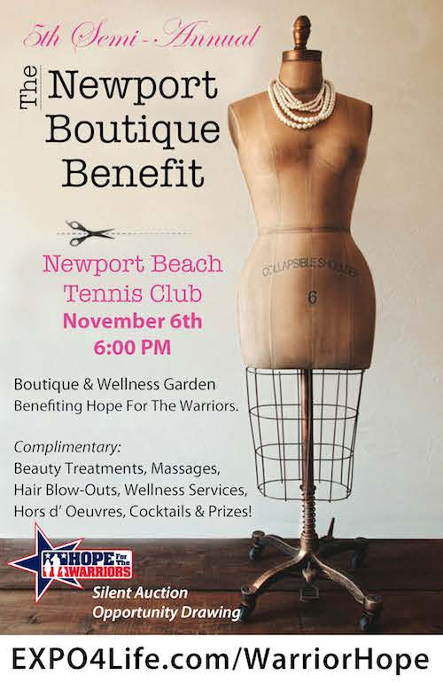 Newport Beach Boutique Benefit