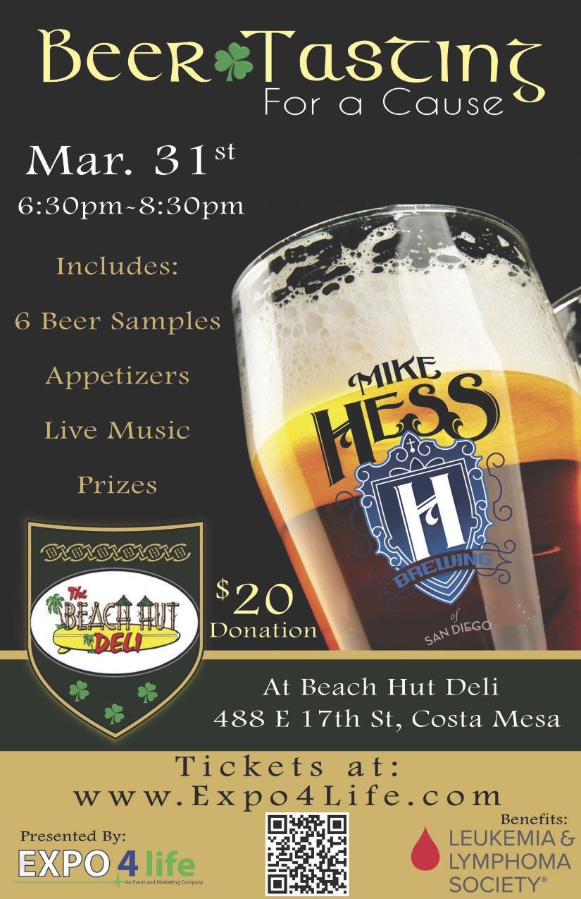 Beer Tasting Flyer BHD