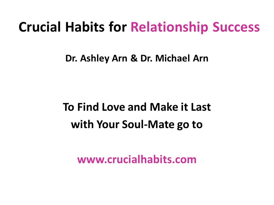 Crucial Habits for Relationship Success