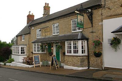 The White Horse Pub, Silverstone village