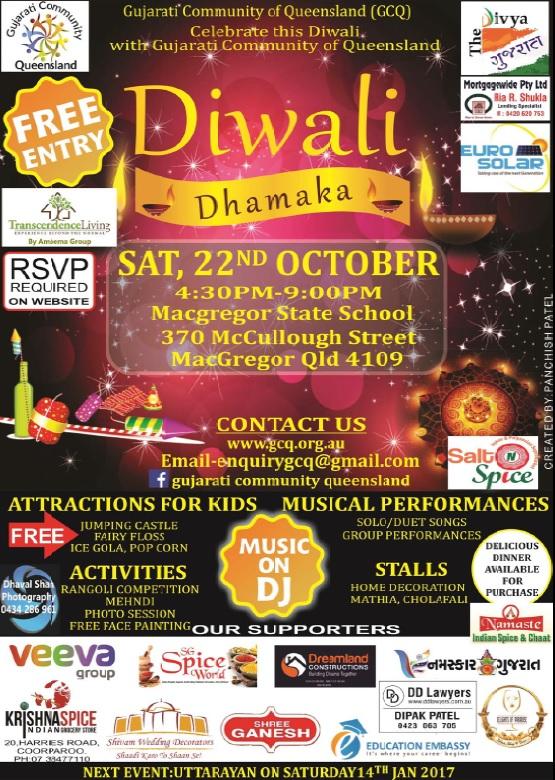Diwali Dhamaka Flyer