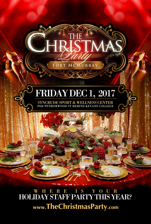The Christmas Party @ Syncrude Sports & Wellness Centre | Fort McMurray | Alberta | Canada