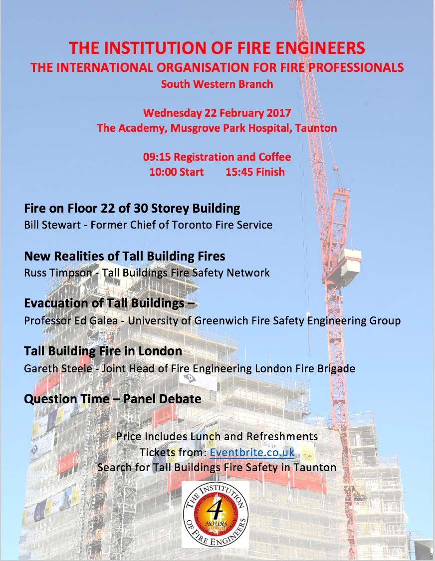 Tall Buildings Fire Safety Flyer