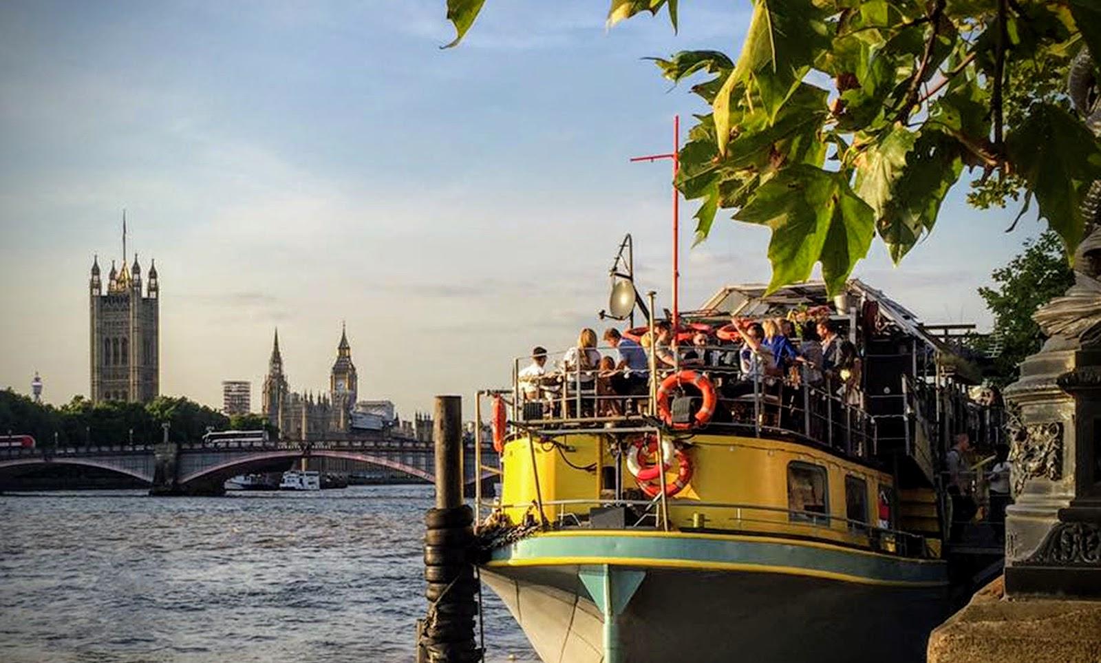 Tamesis Dock Boat Party, Albert Embankment