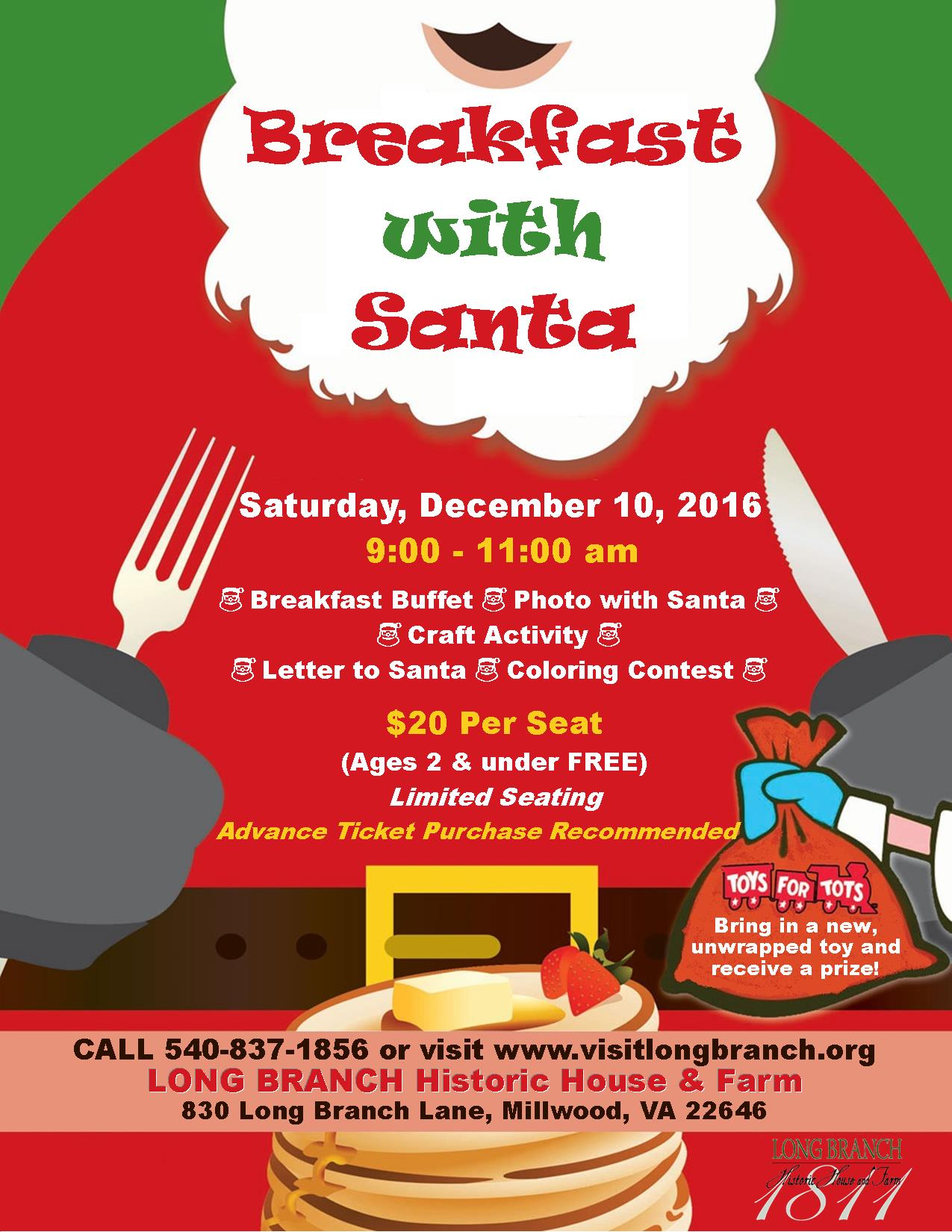 Santa Breakfast Description