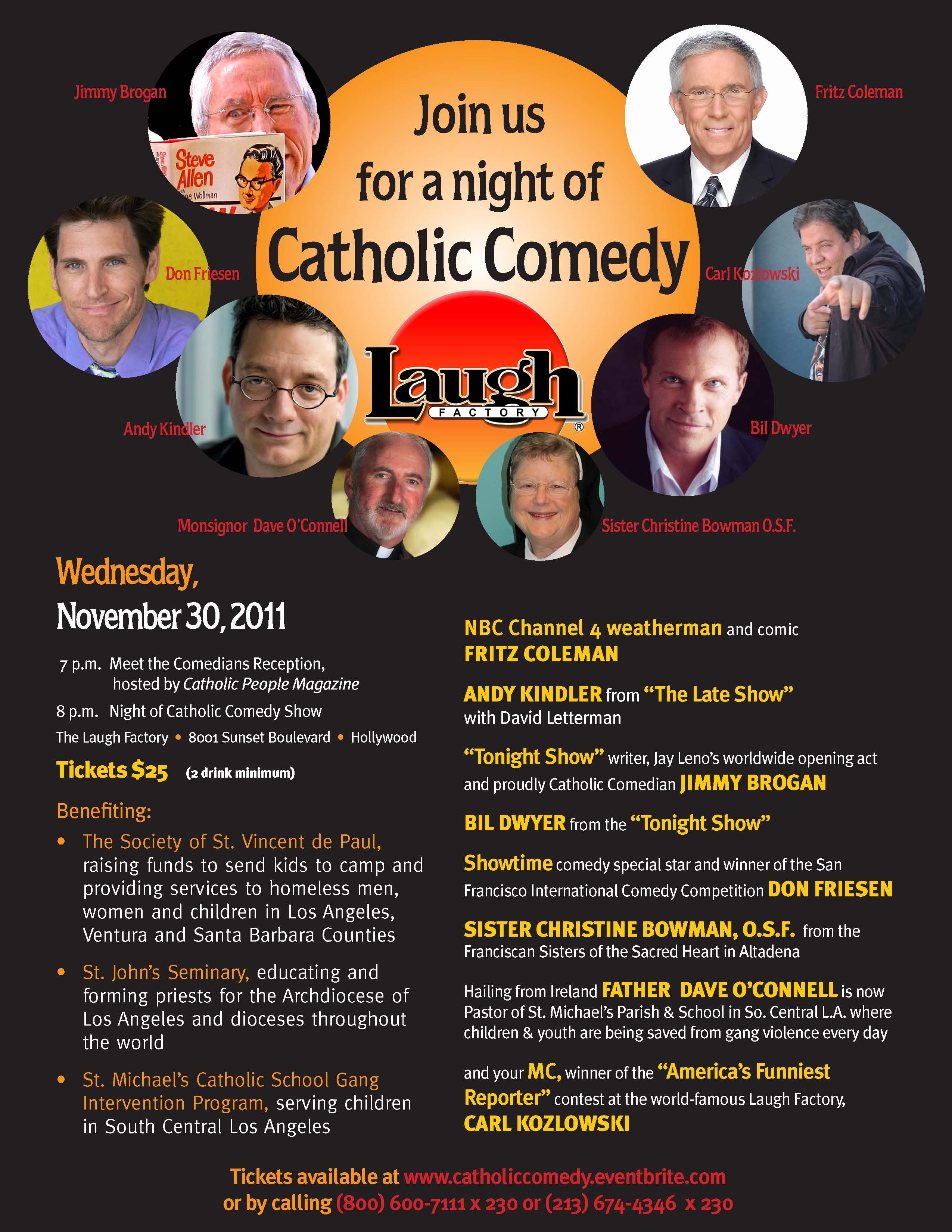 Catholic Comedy Night